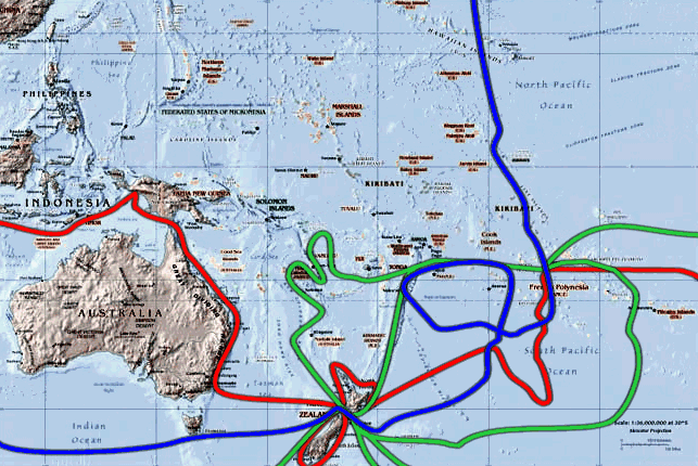 The settlement of hawaii and the surprising el nino effect in 1778 his third voyage shown on the map in blue took captain james cook thousands of miles north from the society islands to an archipelago so remote gumiabroncs Choice Image