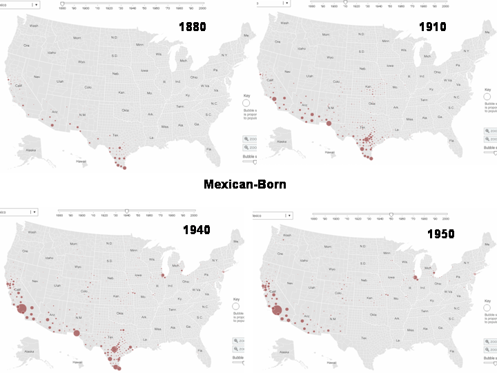 immigrants from latin america particularly from mexico have come to the united states since