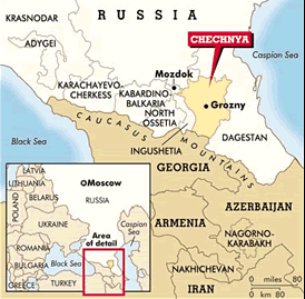 where s chechnya and a brief look at its bloody history
