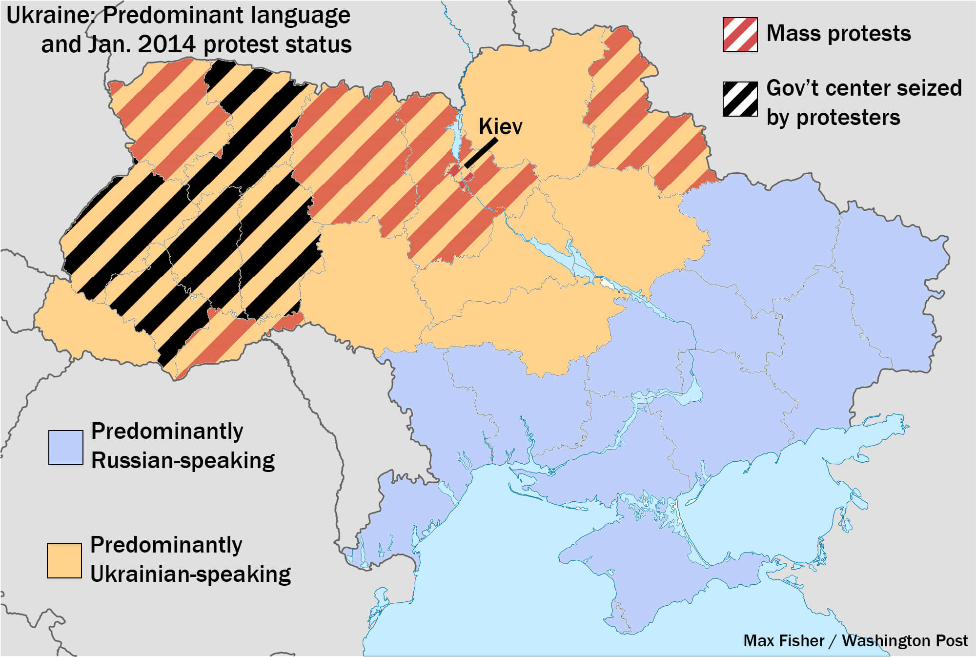 The tale of two ukraines the missing five million ukrainians and ukraine protests map by language k gumiabroncs Images
