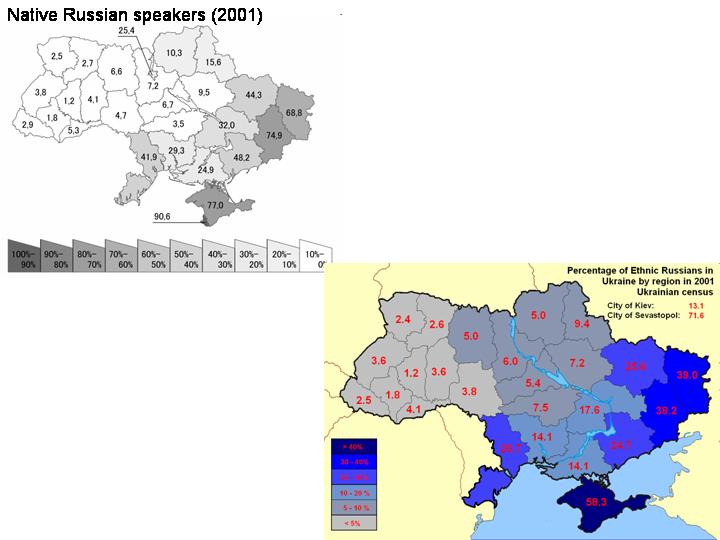 In Ukraine Home Languages Russian 103