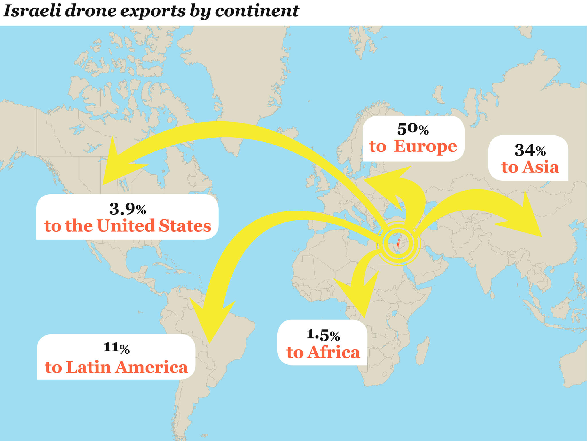 Israels growing arms export languages of the world israeli drone export map gumiabroncs Image collections