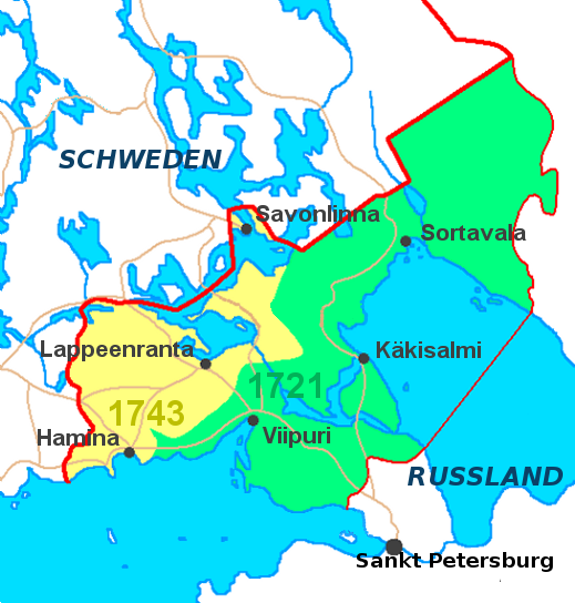 The russian finnish borderlands territorial changes population the area changed hands again as a result of the russian victory over sweden in the great northern war which ended in 1721 but already in 1703 gumiabroncs Choice Image