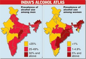 India's Alcohol Atlas