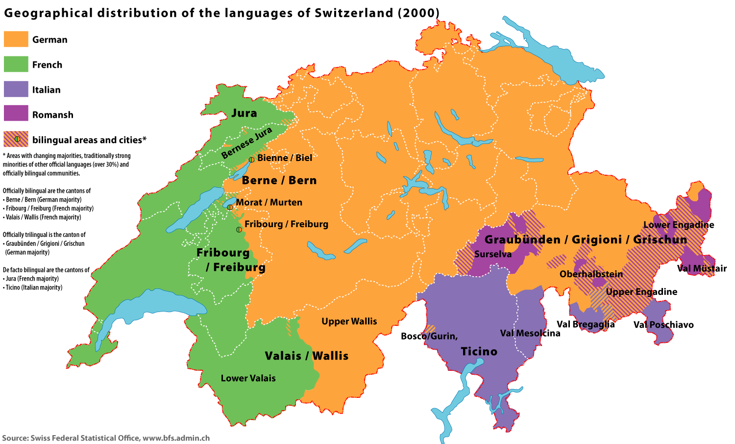 Regional Differences in Swiss Cuisine - Languages Of The World