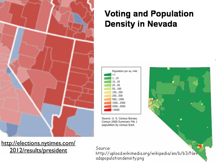 U S Electoral Geography An Urban Rural Divide