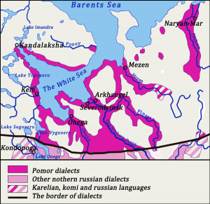 Pomor-dialects