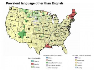 Prevalent language other than English
