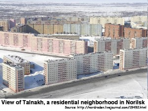 Talnakh_residential_area