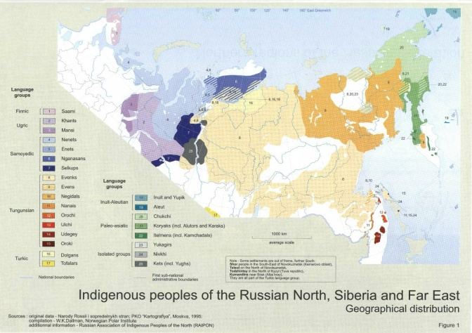 Worksheet. Problems Brewing for Indigenous Peoples of the Russian Far North