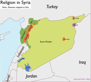 Syria-Religion-Map