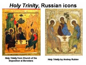 Holy Trinity icons