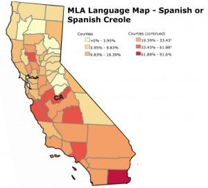 Spanish in California