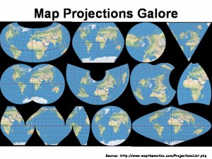 map projections galore
