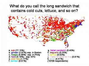 sandwich map