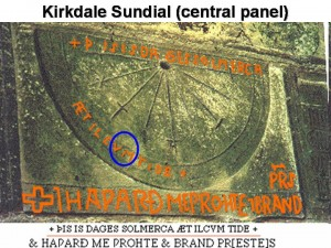 Kirkdale_sundial_central
