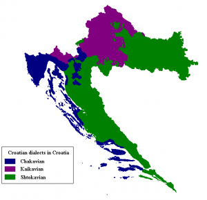 Croatian_dialects