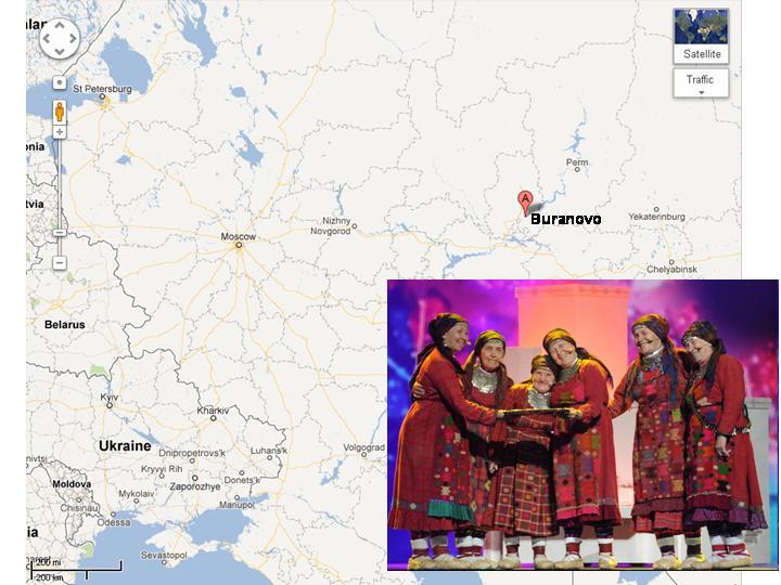 "Buranovskie Babushki"" from Udmurtia Finish in Second Place ... on ladino map, frisian map, navajo map, sakha map, breton map, persian map, bashkortostan map, maori map, tonga map, yiddish map, igbo map, oromo map, sanskrit map, wolof map, tuva map, hawaiian map, uyghur map, malagasy map, yakut map, venda map,"