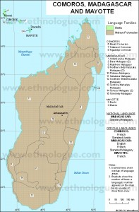 Madagascar_language_map