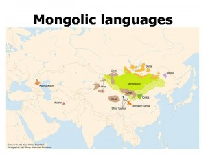 Mongolic_languages