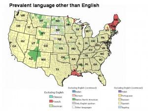 Prevalent language other than English