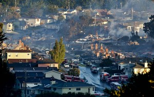 Fire and explosionin San Bruno